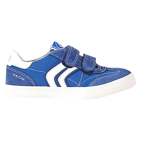 Buy Geox Kiwi Trainers, Blue Online at johnlewis.com