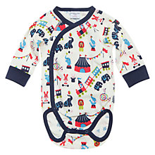 Buy Polarn O. Pyret Circus Wraparound Bodysuit, Stockholm Online at johnlewis.com
