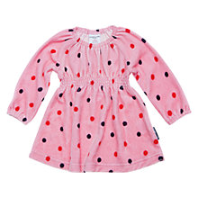 Buy Polarn O. Pyret Wichita Spot Dress, Pink Online at johnlewis.com