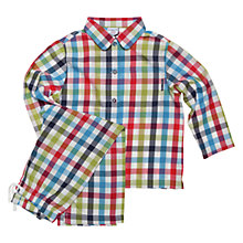 Buy Polarn O. Pyret Newark Pyjamas, Multi Online at johnlewis.com