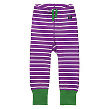 Buy Polarn O. Pyret Donhen Leggings, Purple Online at johnlewis.com
