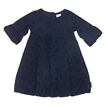 Buy Polarn O. Pyret Winterton Broderie Anglaise Dress, Indigo Online at johnlewis.com
