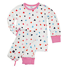 Buy Polarn O. Pyret Pittsburgh Pyjamas, White Online at johnlewis.com