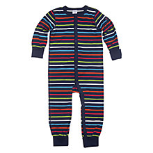 Buy Polarn O. Pyret Riverside Sleepsuit, Indigo Online at johnlewis.com
