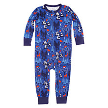 Buy Polarn O. Pyret Cincinnati Sleepsuit, Morning Glory Online at johnlewis.com