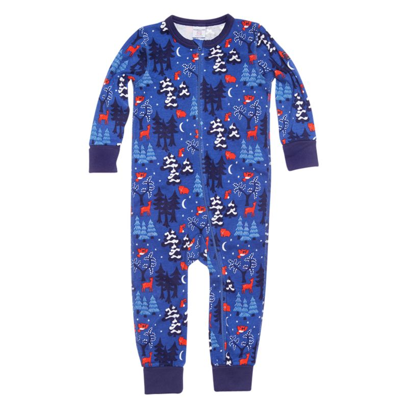 Polarn O. Pyret Cincinnati Sleepsuit, Morning Glory
