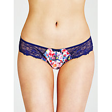 Buy John Lewis Isabella Briefs, Bright Floral Online at johnlewis.com