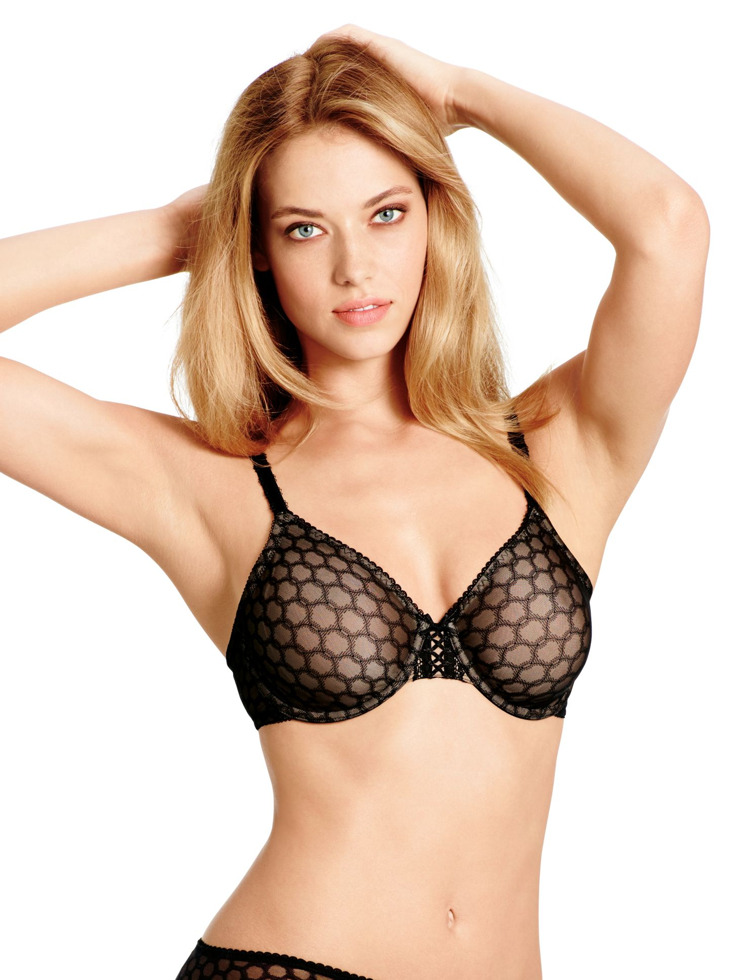 Wacoal Contour Super Chic Full Cup Bra, Black