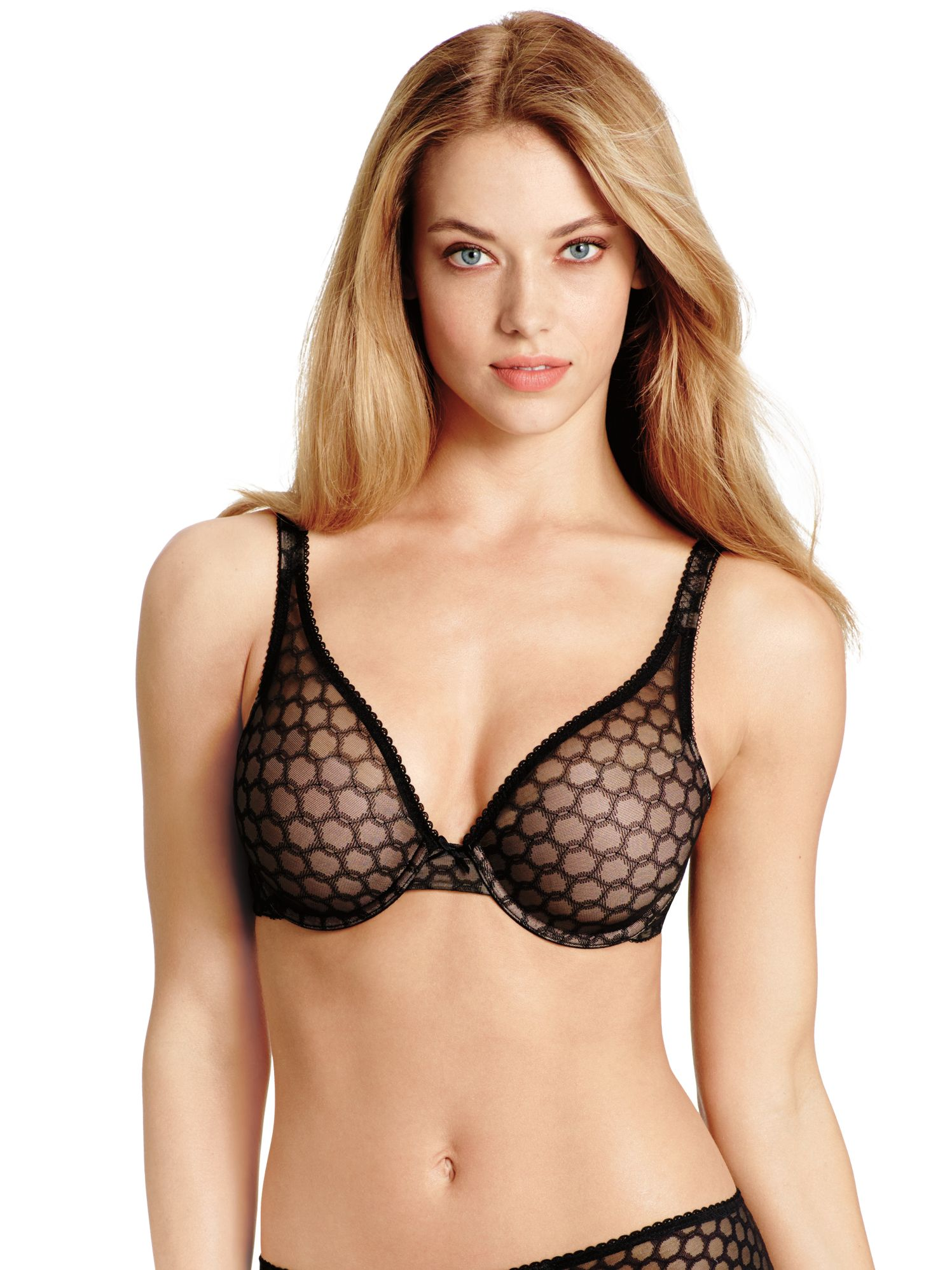 Wacoal Contour Super Chic T-Shirt Bra, Black