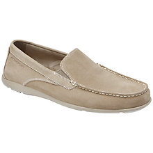 Buy Rockport Cape Noble Suede Mocassin Driving Shoes Online at johnlewis.com