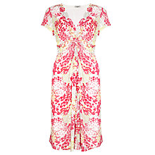Buy John Lewis Capsule Collection Print Jersey Dress, Pink/Stone/Lemon Online at johnlewis.com
