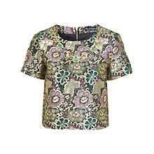 Buy Miss Selfridge Necklace Trim T-Shirt, Assorted Online at johnlewis.com
