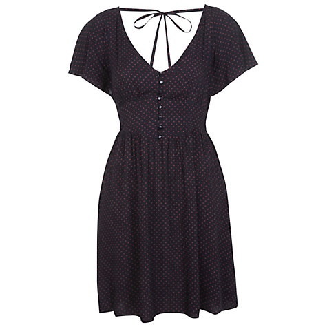 Buy Miss Selfridge Spot Dress, Assorted Online at johnlewis.com