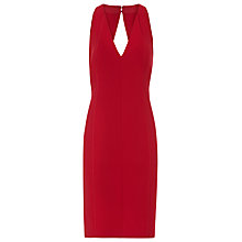 Buy Reiss Bacall Halter Neck Dress, Red Online at johnlewis.com