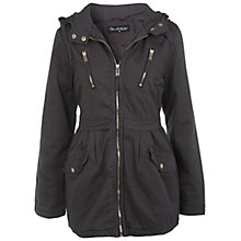 Buy Miss Selfridge Parka Jacket, Grey Online at johnlewis.com