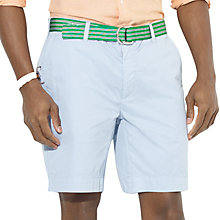 Buy Polo Ralph Lauren Oxford Shorts, Soft Blue Online at johnlewis.com