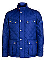 Barbour International Ariel Quilted Jacket, Inky Blue