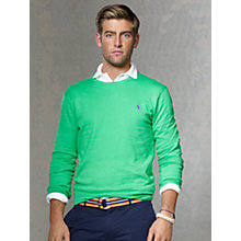 Buy Polo Ralph Lauren Long Sleeve Pima Cotton Jumper Online at johnlewis.com