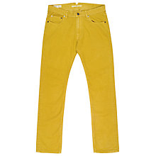 Buy Reiss Lancaster Denim Chinos, Mustard Yellow Online at johnlewis.com