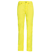 Buy Polo Ralph Lauren Varick Slim Fit Trousers, Yellow Online at johnlewis.com