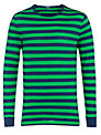 Polo Ralph Lauren Striped T-Shirt, Green/Navy