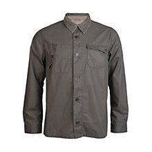 Buy Barbour Pocket Detail Steam Shirt, Olive Online at johnlewis.com