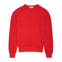 Buy Reiss Cigar Raglan Sleeve Fisherman Jumper Online at johnlewis.com