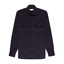 Buy Reiss Beck Polka Dot Shirt, Navy Online at johnlewis.com