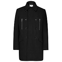 Buy Reiss Dreamer Wool Coat, Black Online at johnlewis.com