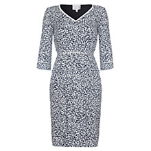 Buy allegra by Allegra Hicks Floral Sarah Dress, Navy Online at johnlewis.com