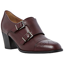 Buy Dune Black Ami Leather Court Shoes, Red Online at johnlewis.com