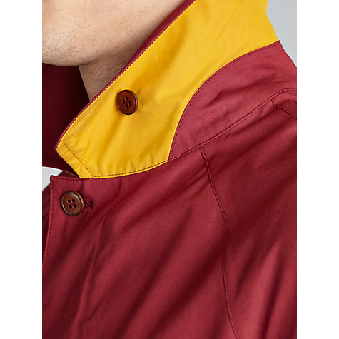 Buy JOHN LEWIS & Co. Made in England Ventile Mac, Oxblood Red Online at johnlewis.com