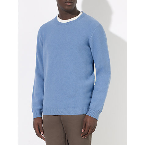 Buy JOHN LEWIS & Co. Moss Stitch Cotton Crew Neck Jumper Online at johnlewis.com