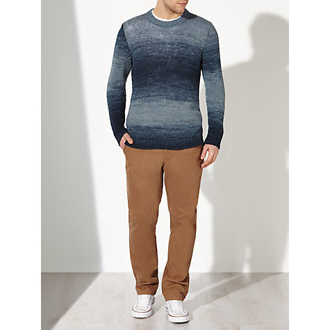 Buy JOHN LEWIS & Co. Space Dye Crew Neck Jumper Online at johnlewis.com