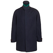 Buy JOHN LEWIS & Co. Made in England Ventile Mac, Navy Online at johnlewis.com