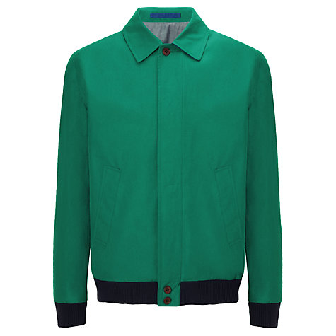 Buy JOHN LEWIS & CO. Made In England Ventile Bomber Jacket Online at johnlewis.com