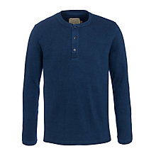 Buy JOHN LEWIS & Co. Pique Grandad Top, Indigo Online at johnlewis.com