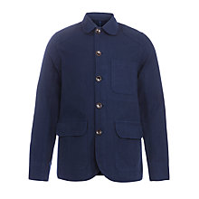 Buy JOHN LEWIS & Co. Workwear Jacket, Navy Online at johnlewis.com