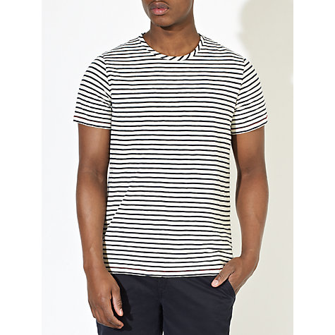 Buy JOHN LEWIS & Co. Vintage Stripe Short Sleeve T-Shirt Online at johnlewis.com