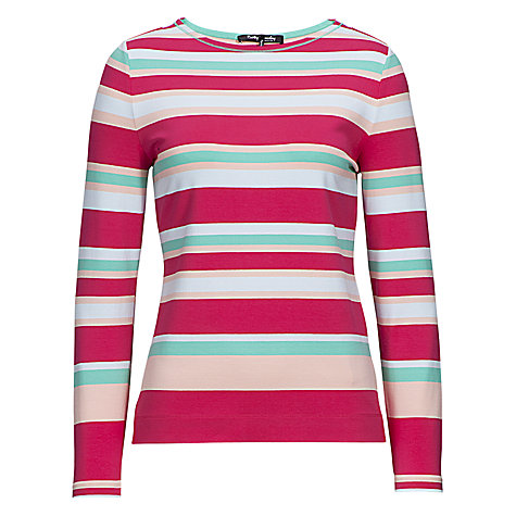 Buy Betty Barclay Long Sleeve Stripe T-Shirt Online at johnlewis.com