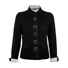 Buy Betty Barclay Jacket, Black/Cream Online at johnlewis.com