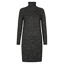 Buy Hobbs Dapple Dress, Black/Multi Online at johnlewis.com