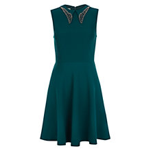Buy NW3 by Hobbs Carolina Dress, Jewels Green Online at johnlewis.com