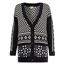 Buy NW3 by Hobbs Helen Cardigan, Maritime Multi Online at johnlewis.com