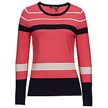 Buy Betty Barclay Long Sleeve Stripe Knit Online at johnlewis.com