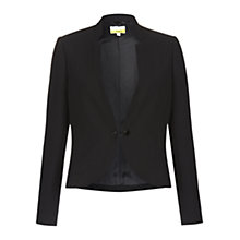 Buy NW3 by Hobbs Belle Cropped Jacket, Black Online at johnlewis.com