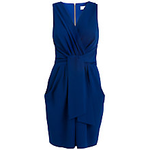 Buy Almari Wrap Tie Dress, Blue Online at johnlewis.com