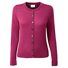 Buy East Border Crew Neck Cardigan, Berry Online at johnlewis.com