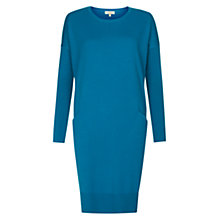 Buy Hobbs Gwen Dress, Electric Blue Online at johnlewis.com