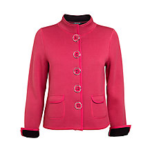 Buy Betty Barclay Long Sleeve Knit Jacket, Pink Online at johnlewis.com